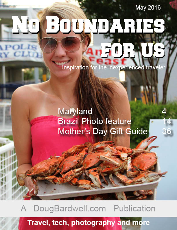 This month's issue of No Boundaries For Us
