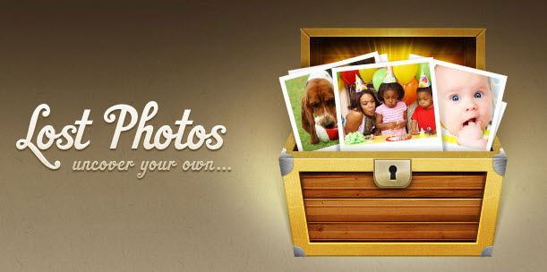 What to do when you've lost your photos