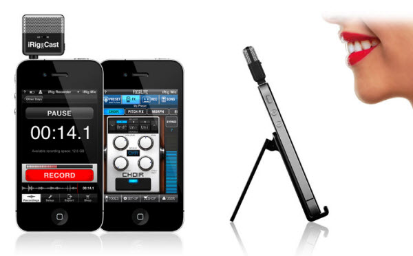 iRig MIC Cast microphone from IK Multimedia