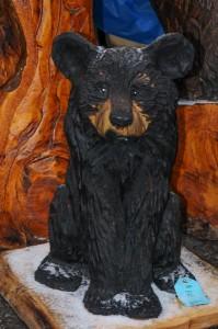 Bear cub by Zoe Boni
