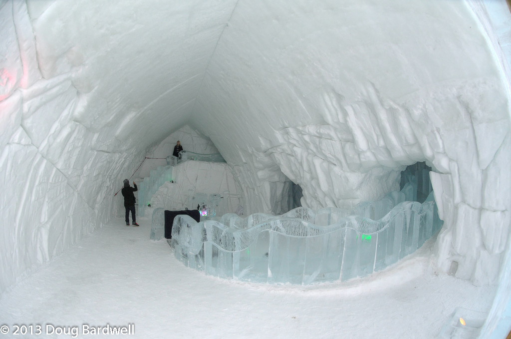 Spending A Night At The Ice Hotel In Quebec Canada
