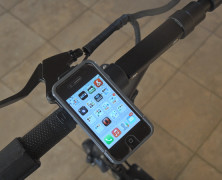 Ride, urban cowboy, ride with Rokform Bike Handlebar Mount