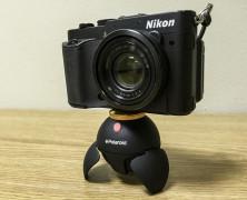 Polaroid 360° panorama pan head with remote control