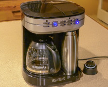 Café Select Dual Brew  – Introducing the most practical way to brew coffee